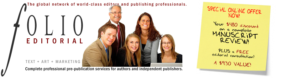 Folio Editorial :: Editorial Services, Pre-Publication Planning and Marketing Support